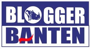 Logo Blogger Banten Biru